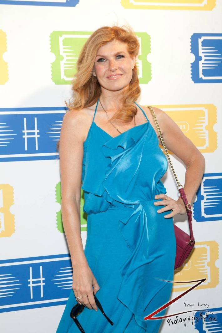 Actress Connie Britton attends COACH's 3rd Annual Summer Party (Photo by Yoni Levy)