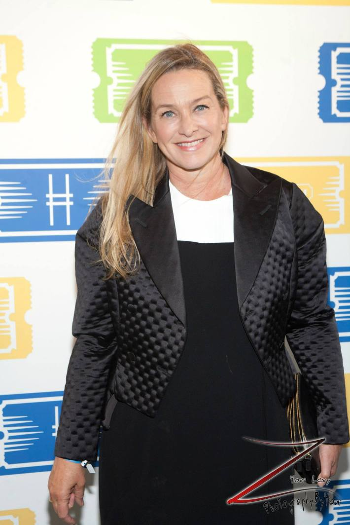 Elle Magazine's Fashion News Director attends COACH's 3rd Annual Summer Party (Photo by Yoni Levy)
