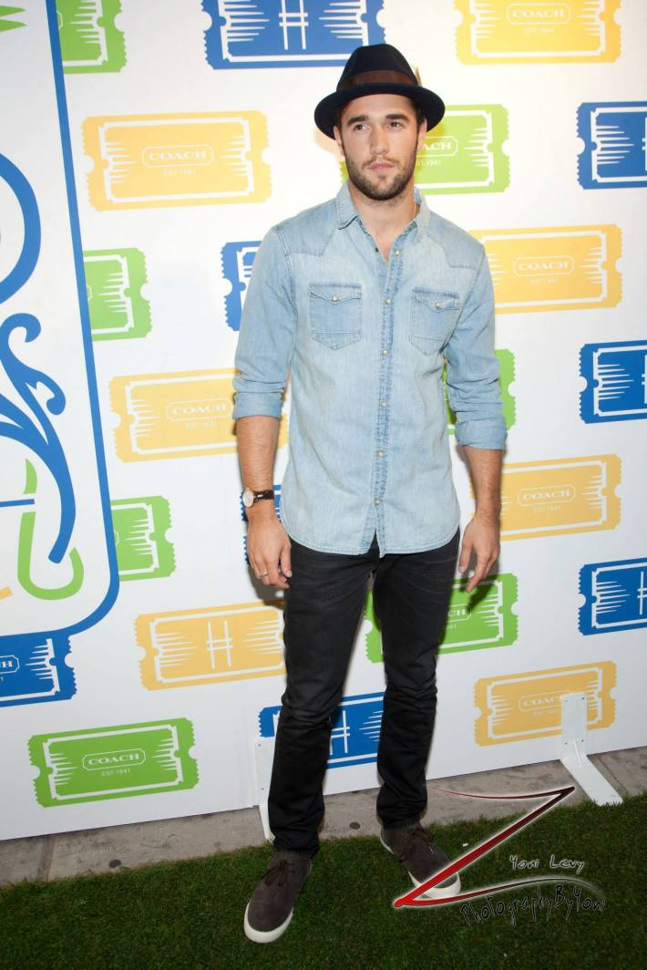 Actor Joshua Bowman attends COACH's 3rd Annual Summer Party  (Photo by Yoni Levy)