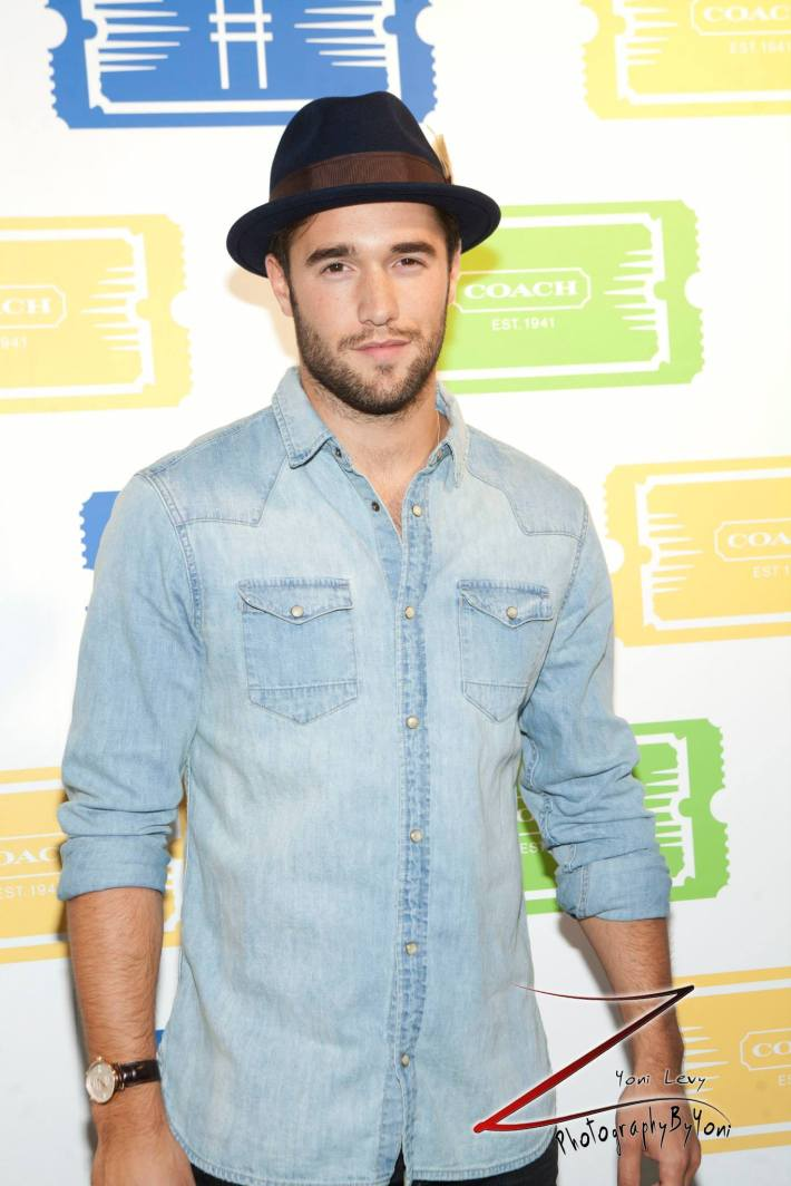 Actor Joshua Bowma attends COACH's 3rd Annual Summer Party  (Photo by Yoni Levy)