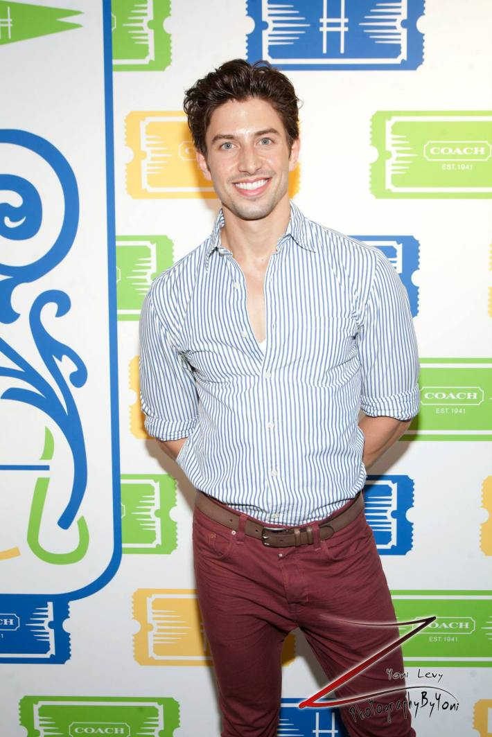Actor Nick Adams attends COACH's 3rd Annual Summer Party