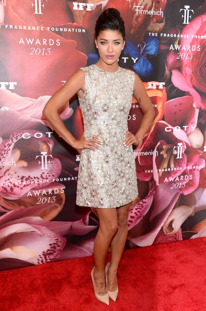 Jessica Szohr attends the 2013 Fragrance Foundation Awards