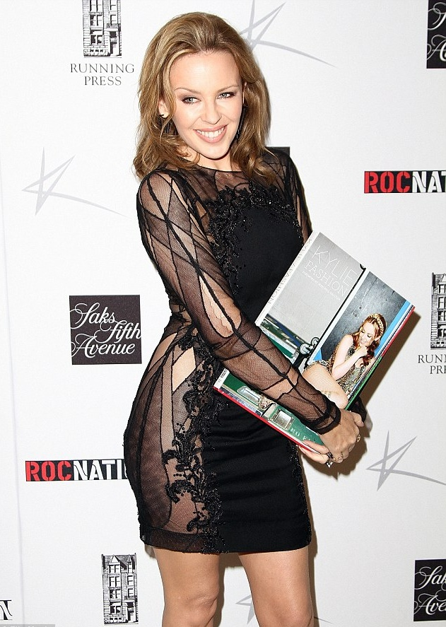 Kylie Minogue launches 'Kylie Fashion' at Saks