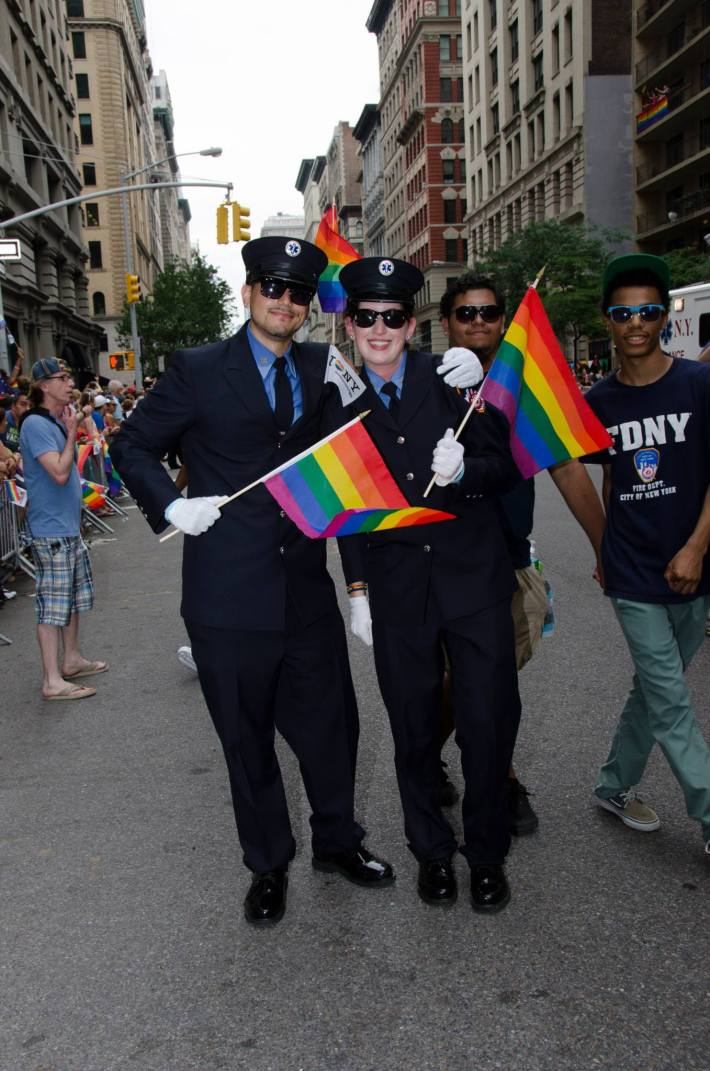 NYC Pride 2013 - The March (Photo by Yoni Levy)