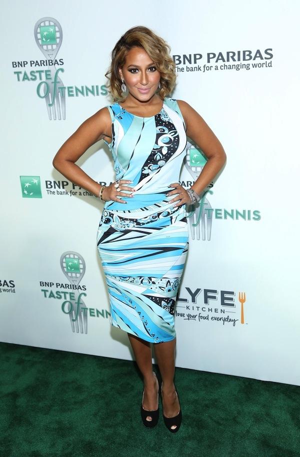 Adrienne Bailon attends The 14th Annual BNP Paribas Taste Of Tennis