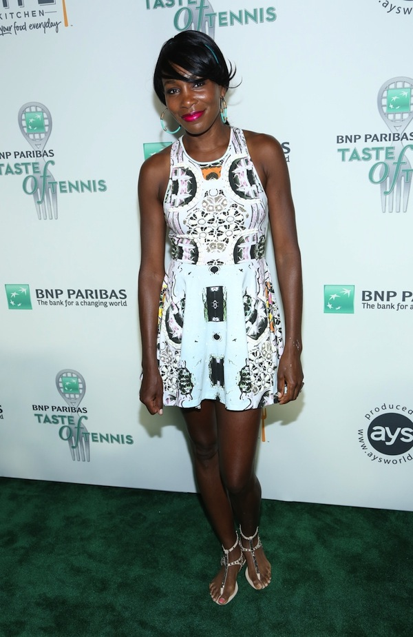 Venus Williams attends The 14th Annual BNP Paribas Taste Of Tennis