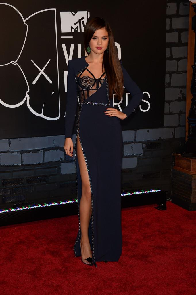 Selena Gomez at the 2013 MTV Video Music Awards