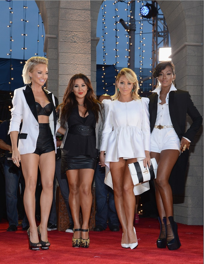 Danity Kane at the 2013 MTV Video Music Awards