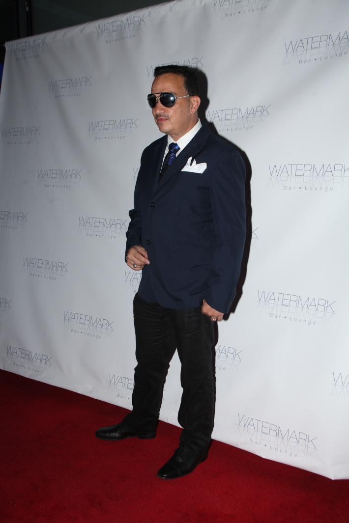 Fashion designer Anthony Rubio attends the Grand Opening of Watermark Bar (Photo by Yoni Levy)