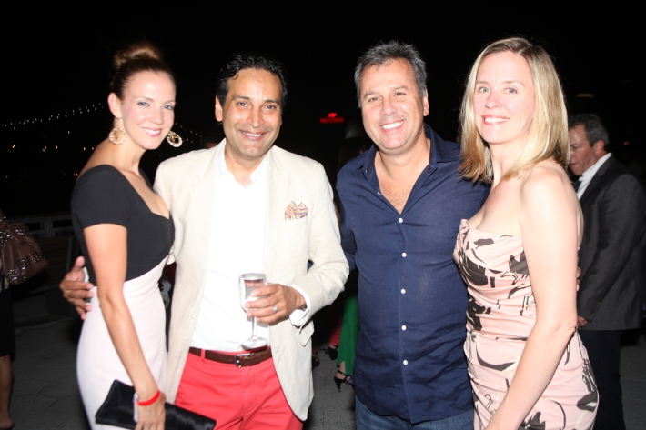 Guests attend the Grand Opening of Watermark Bar (Photo by Yoni Levy)