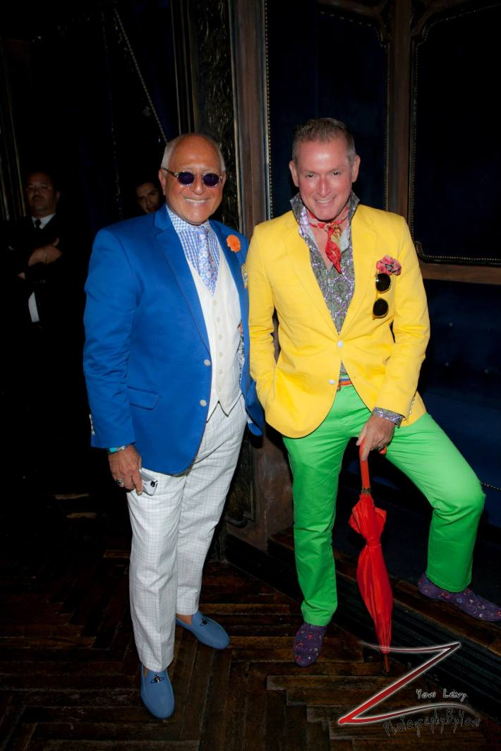 """Ben, Montgomery Frazier attend """"Inspired In New York"""" event (Photo by Yoni Levy)"""