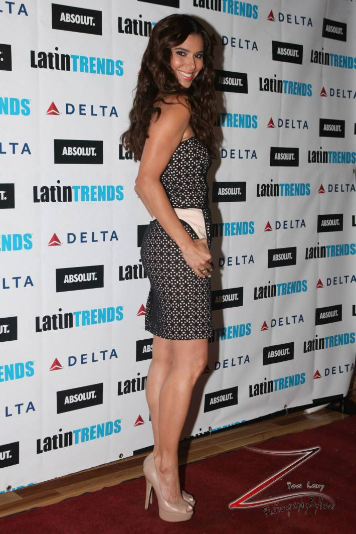 Roselyn Sanchez attends LatinTrends Magazine's 100th Issue Celebration