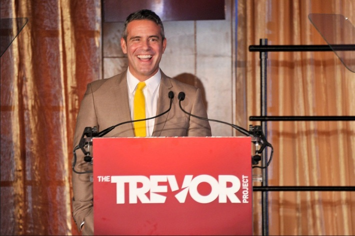 "Andy Cohen at The Trevor Project's 2013 ""TrevorLIVE"" Event"