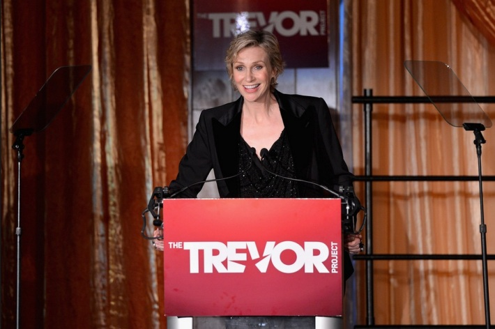"Jane Lynch at The Trevor Project's 2013 ""TrevorLIVE"" Event"