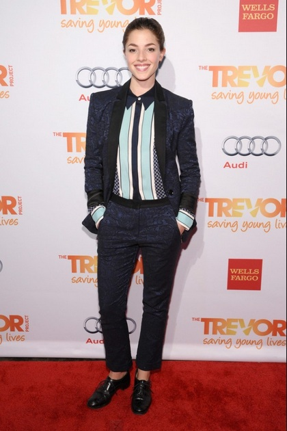 "Olivia Thirlby attends The Trevor Project's 2013 ""TrevorLIVE"" Event"