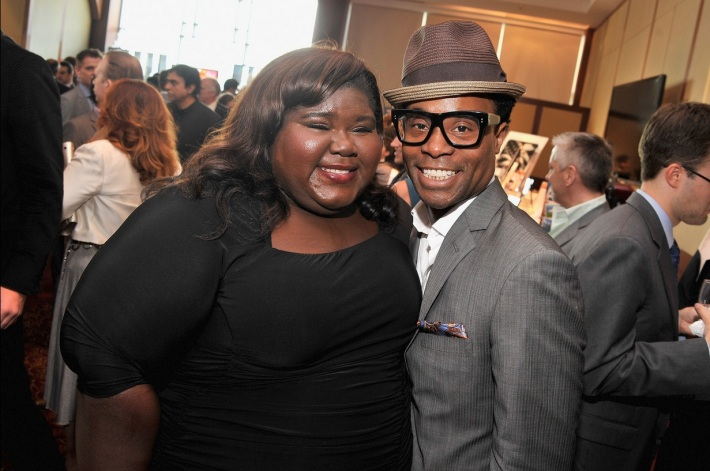 "Gabourey Sidibe and Billy Porter attend The Trevor Project's 2013 ""TrevorLIVE"" Event"