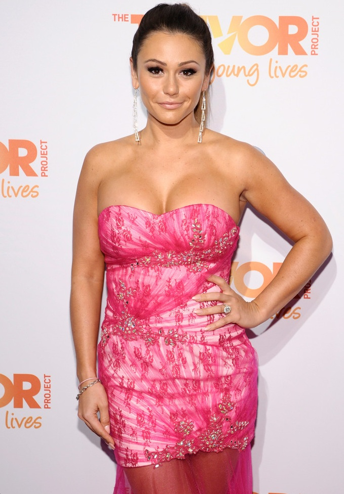 "Jenni 'Jwoww' Farley attends The Trevor Project's 2013 ""TrevorLIVE"" Event"