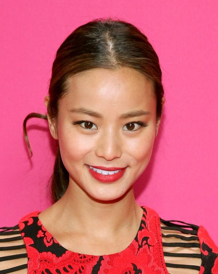 Jamie Chung  at the 2013 Victoria's Secret Fashion Show