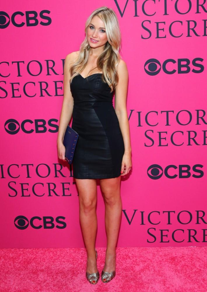 Katrina Bowden  at the 2013 Victoria's Secret Fashion Show