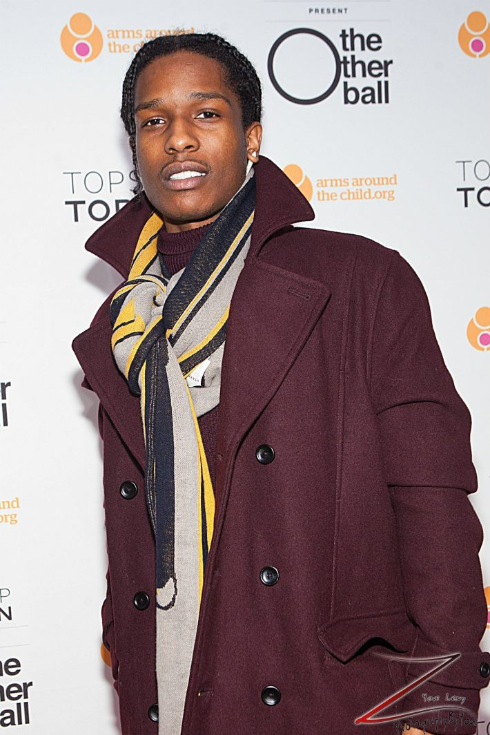 ASAP Rocky attends 'Arms Around the Child's' The Other Ball at Highline Ballroom (Photo by Yoni Levy)
