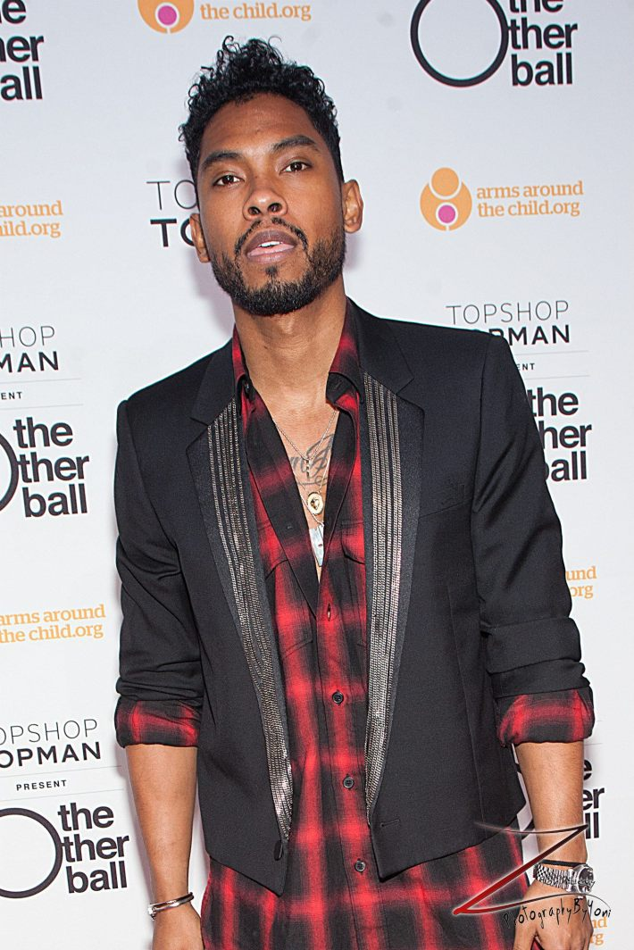 Miguel attends 'Arms Around the Child's' The Other Ball at Highline Ballroom (Photo by Yoni Levy)