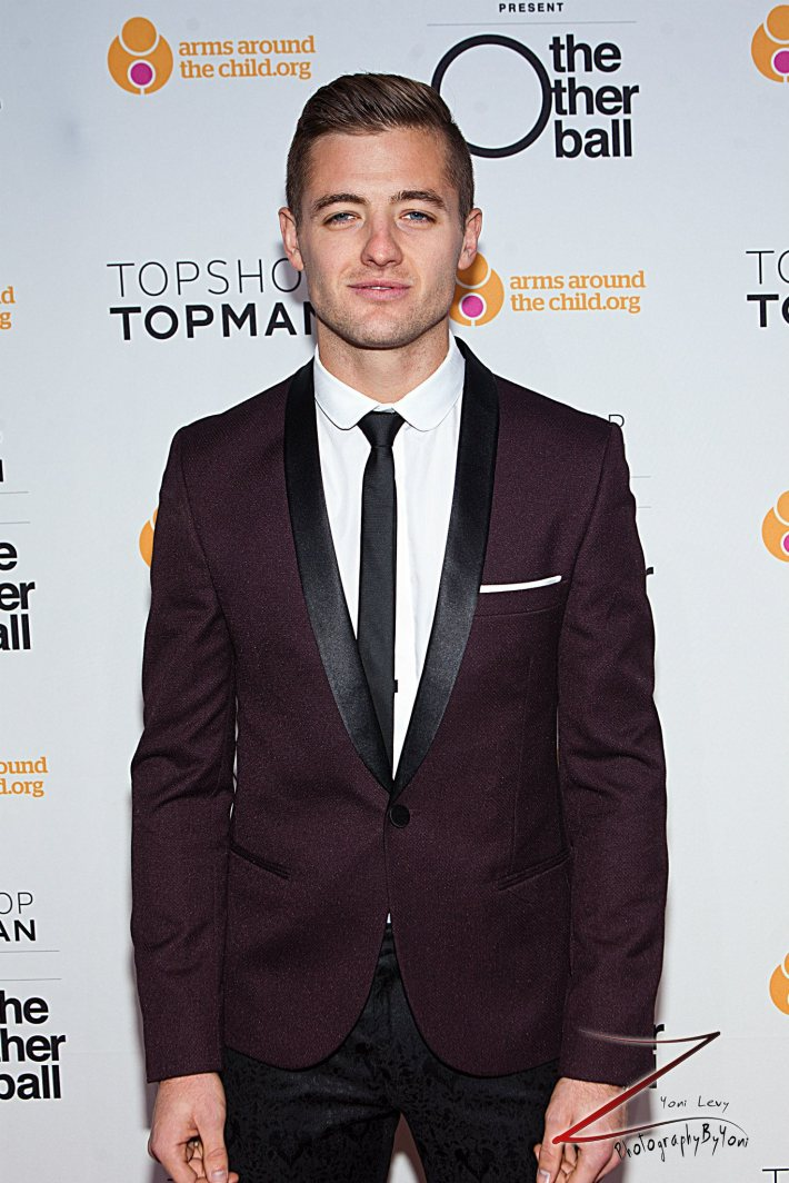 Robbie Rogers attends 'Arms Around the Child's' The Other Ball at Highline Ballroom (Photo by Yoni Levy)
