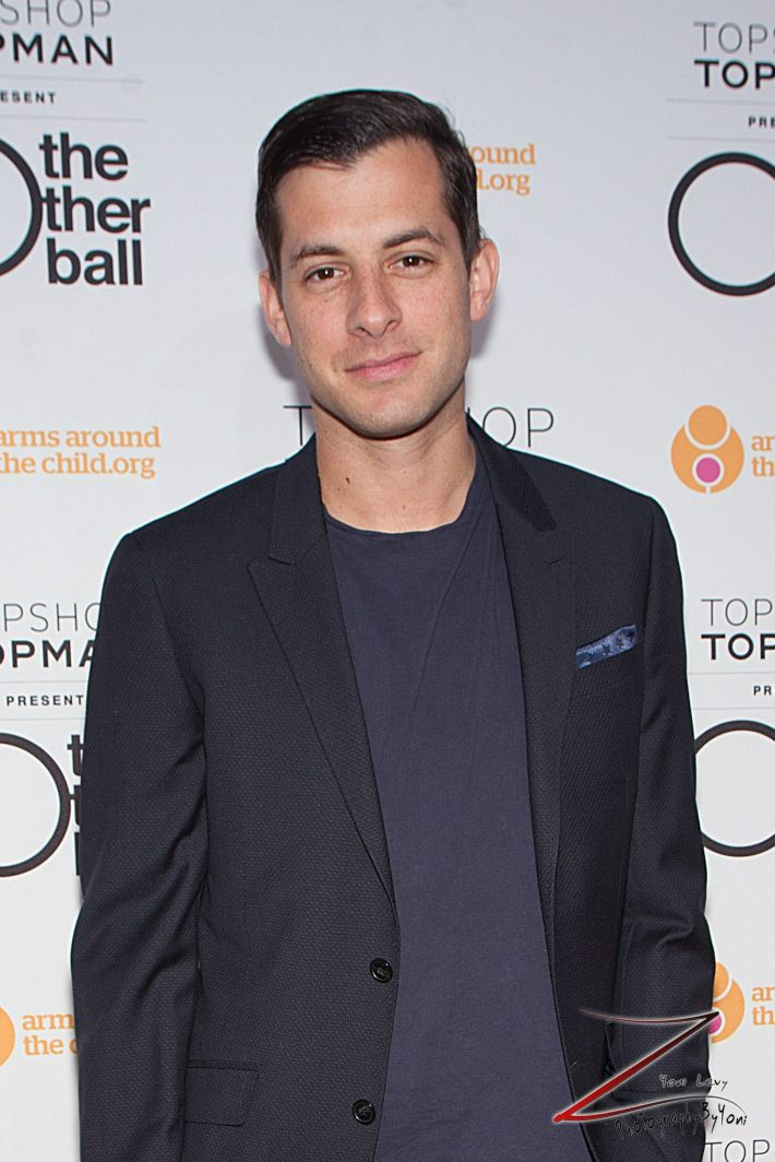 Mark Ronson attends 'Arms Around the Child's' The Other Ball at Highline Ballroom (Photo by Yoni Levy)