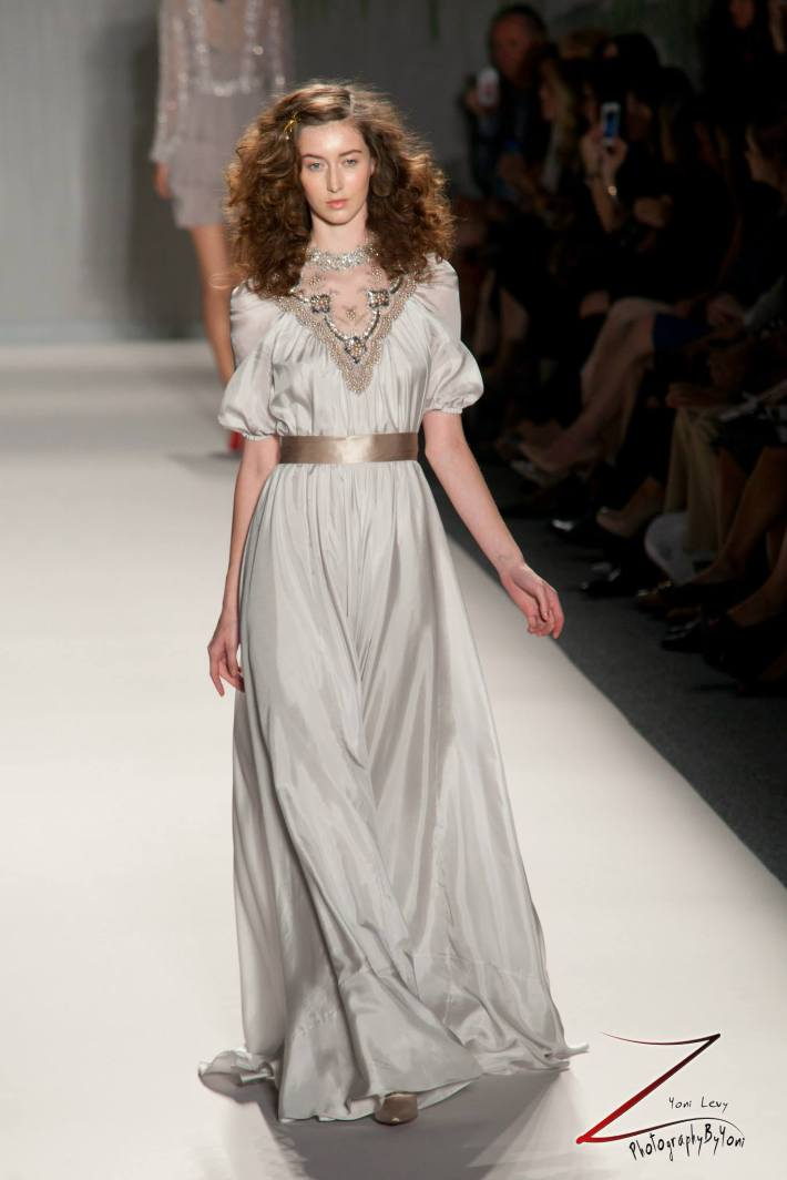 Jenny Packham Spring 2014 – Mercedes-Benz Fashion Week (Photo by Yoni Levy)