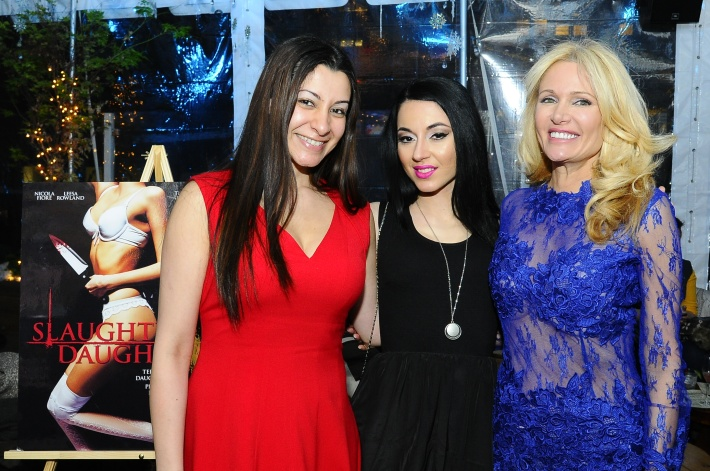 Nicole Fiore, Leesa Rowland at Slaughter Daughter Film Screening with Scream Queens Leesa Rowland & Nicola Fiore