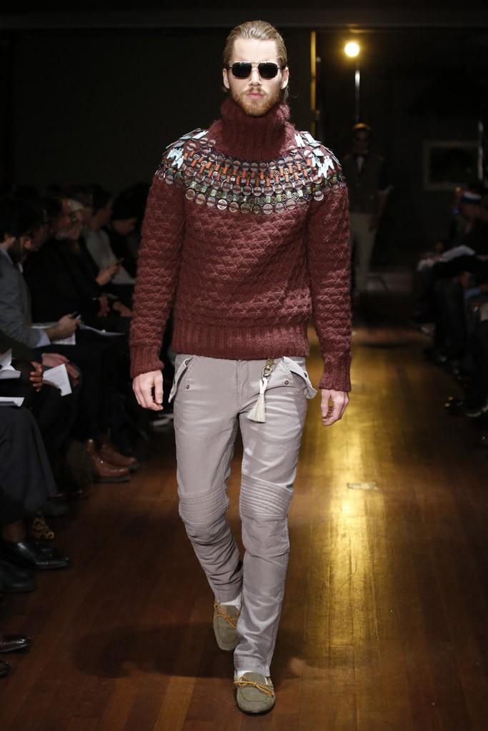 Michael Bastian 2014 Fall Winter - Mercedes-Benz Fashion Week (Photo by JohnAquino)