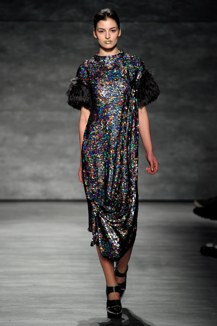 Son Jung Wan 2014 Fall/Winter – Mercedes-Benz Fashion Week (Photo by Rodin Banica)