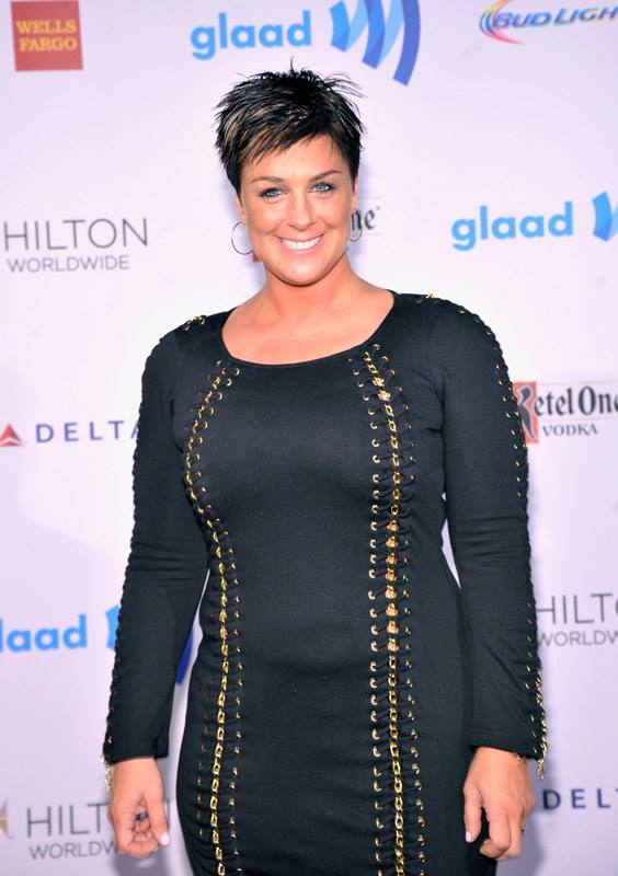 Tracy Young attends the 25th Annual GLAAD Media Awards in New York City (Photo by StephenLovekin)