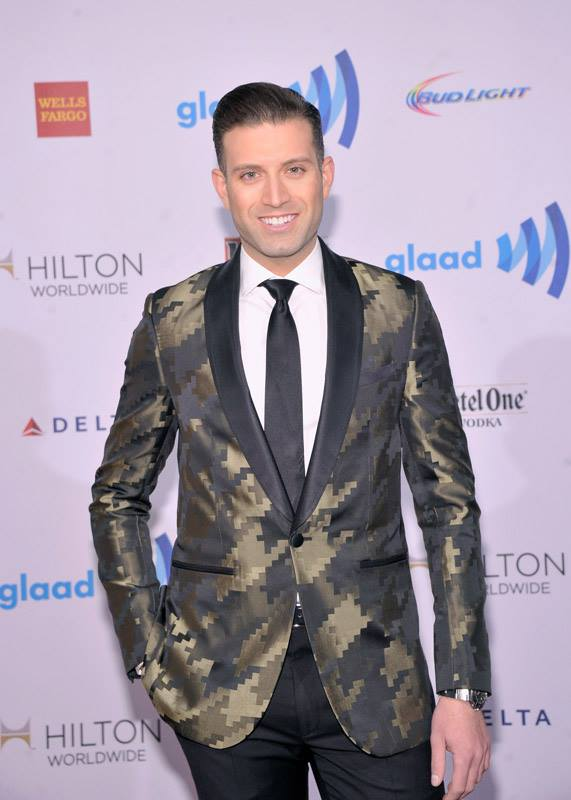 Omar Sharif, Jr.  attends the 25th Annual GLAAD Media Awards in New York City (Photo by StephenLovekin)