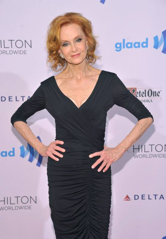 Swoosie Kurtz attends the 25th Annual GLAAD Media Awards in New York City (Photo by StephenLovekin)
