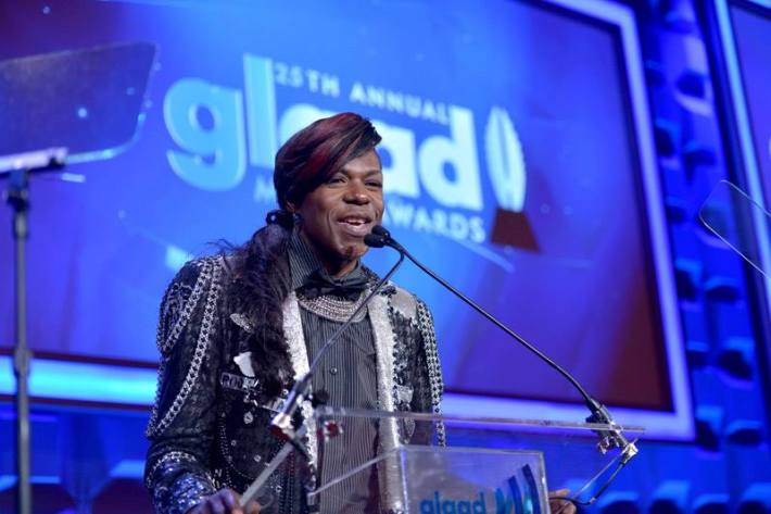 Big Freedia at the 25th Annual GLAAD Media Awards in New York City (Photo by StephenLovekin)