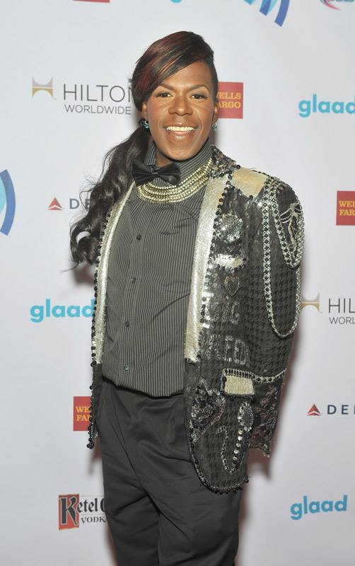 Big Freedia attends the 25th Annual GLAAD Media Awards in New York City (Photo by StephenLovekin)
