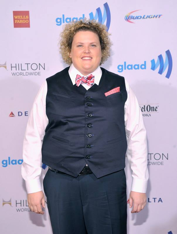 Fortune Feimster  attends the 25th Annual GLAAD Media Awards in New York City (Photo by StephenLovekin)