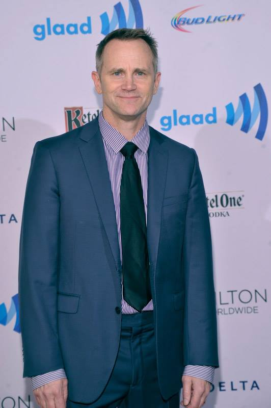 Actor Lee Tergesen attends the 25th Annual GLAAD Media Awards in New York City (Photo by StephenLovekin)