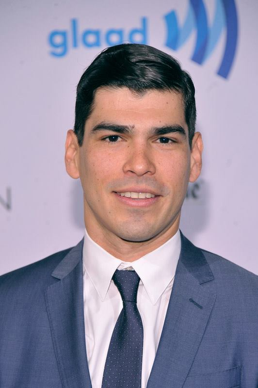 Actor Raul Castillo of HBO's Looking attends the 25th Annual GLAAD Media Awards in New York City (Photo by StephenLovekin)