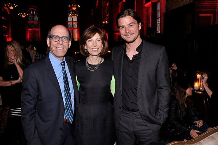 Chairman and CEO, Showtime Networks Inc., Matthew C. Blank, Susan McGuirk and actor Josh Hartnett attend the premiere screening of the Showtime original series PENNY DREADFUL  (Photo by MichaelLoccisano)