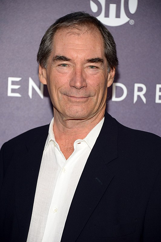 Timothy Dalton attends the premiere screening of the Showtime original series PENNY DREADFUL at the High Line Hotel in New York City (Photo by MichaelLoccisano)