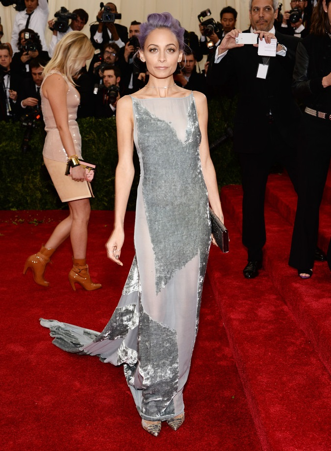 "Nicole Richie attends ""Charles James: Beyond Fashion"" Costume Institute Gala"