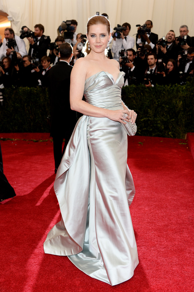 "Amy Adams attends ""Charles James: Beyond Fashion"" Costume Institute Gala"