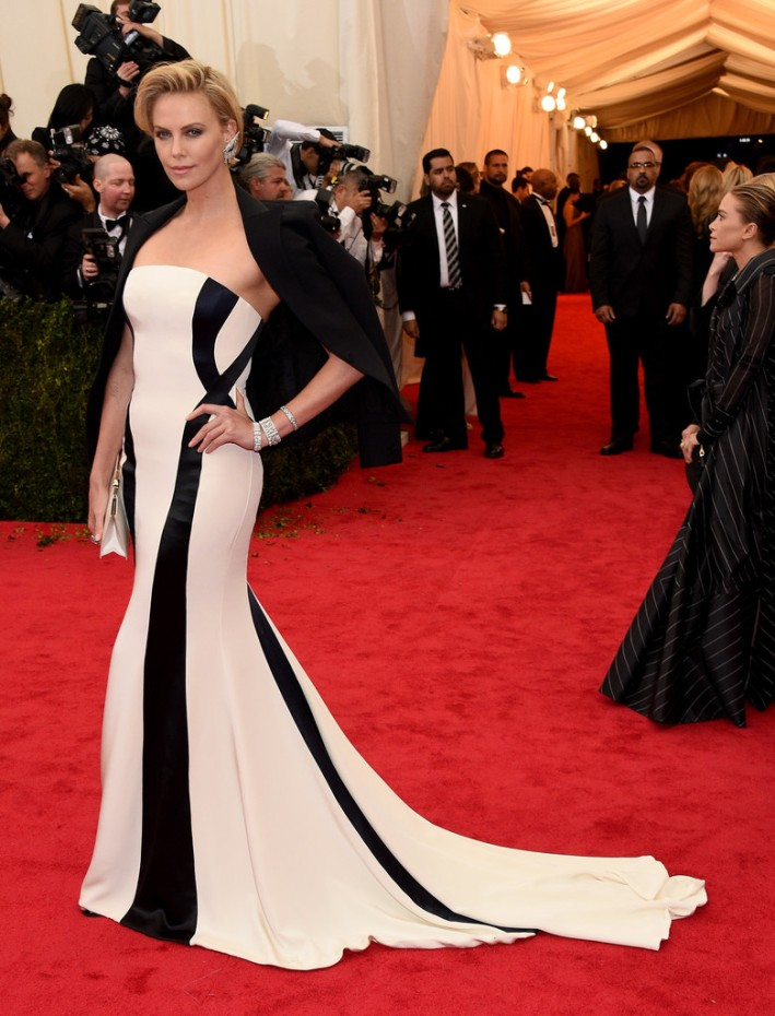 "Charlize Theron attends ""Charles James: Beyond Fashion"" Costume Institute Gala"