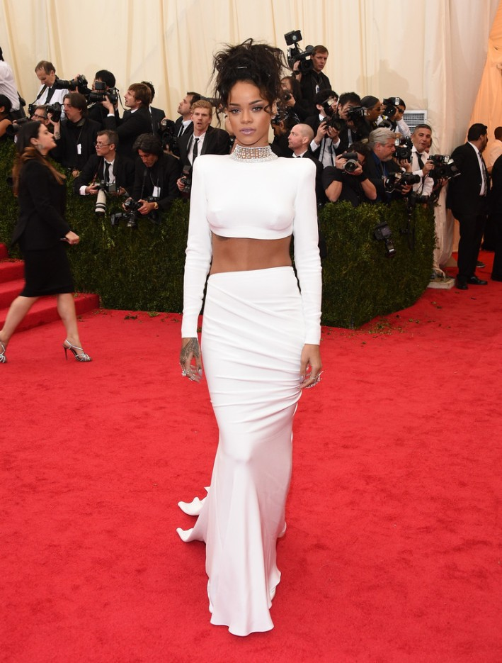 "Rihanna attends ""Charles James: Beyond Fashion"" Costume Institute Gala"