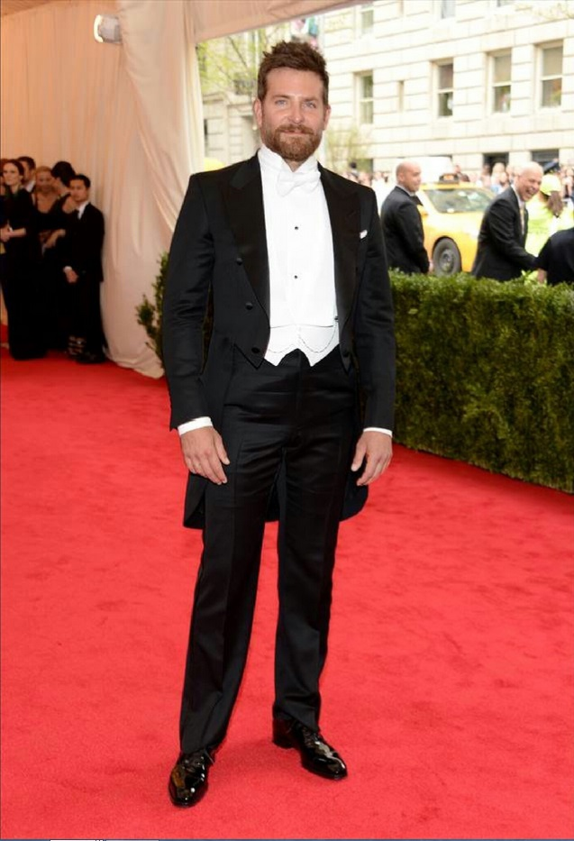 "Bradley Cooper attends ""Charles James: Beyond Fashion"" Costume Institute Gala"