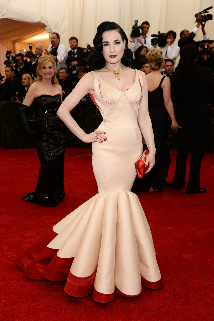 "Dita Von Teese attends ""Charles James: Beyond Fashion"" Costume Institute Gala"