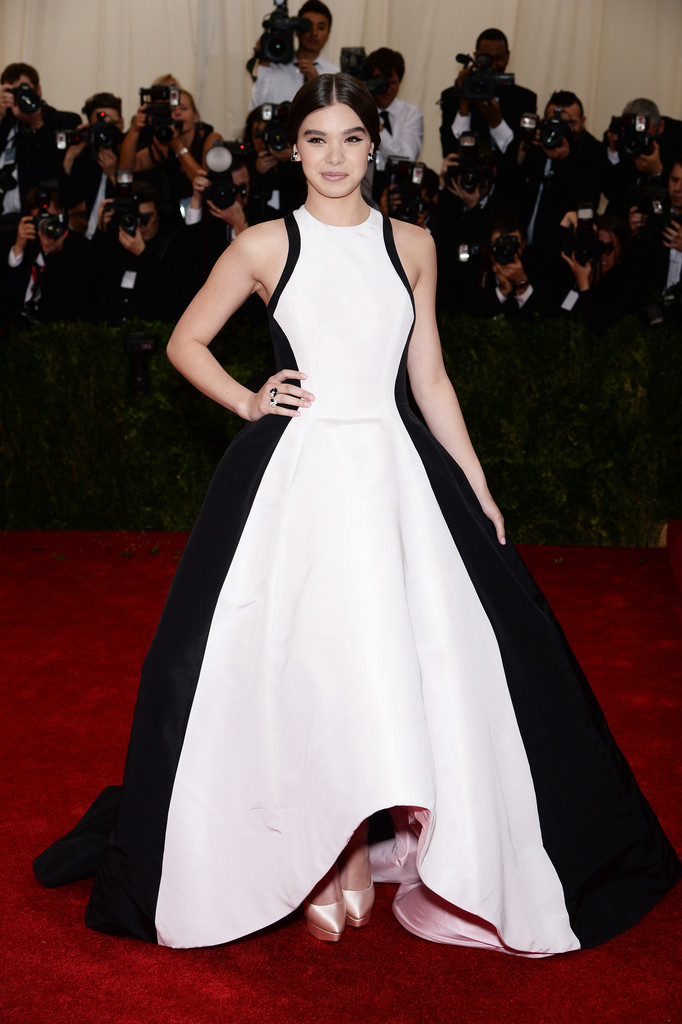 "Hailee Steinfeld attends ""Charles James: Beyond Fashion"" Costume Institute Gala"