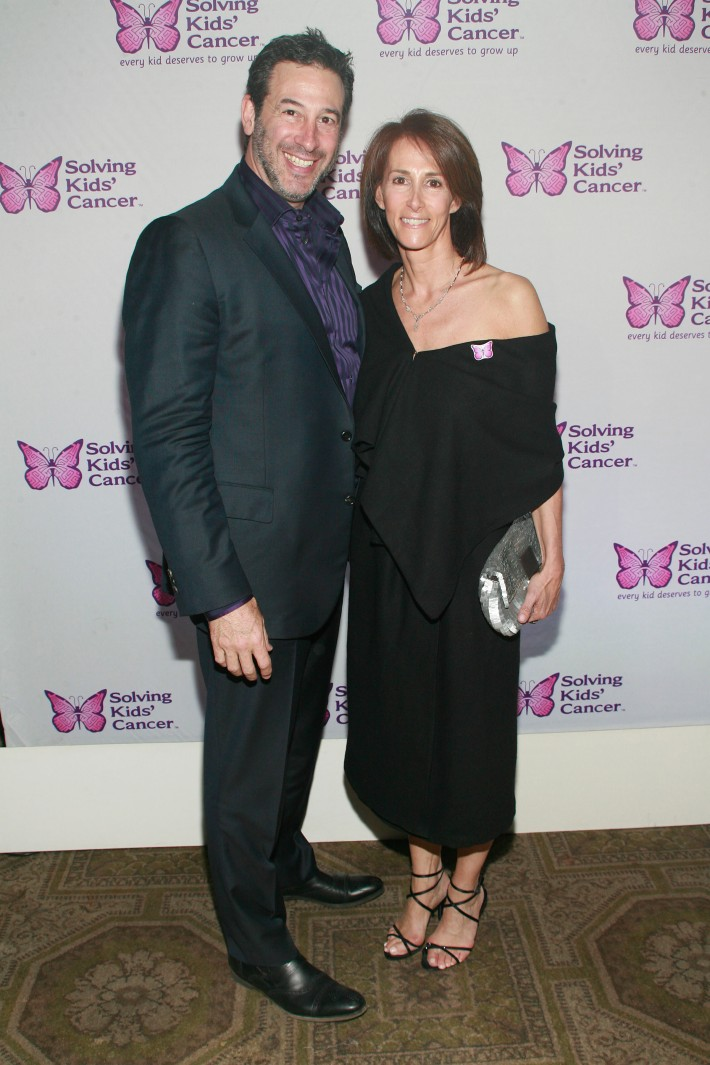 Michael Planit and Jan Planit attend the fifth annual Solving Kids' Cancer Spring Celebration at 583 Park Avenue