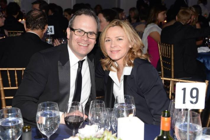 Kim Cattrall attends  at Museum of the Moving Image 28th Annual Salute Honoring Kevin Spacey